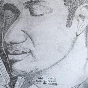 Nathaniel Bassey. Artwork. Ikoyi Prison.